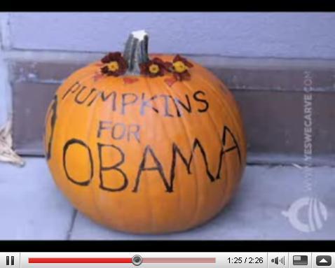 Obama Pumpkin