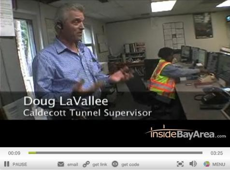 Caldecott Tunnel Video