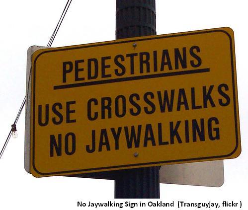 Jay Walking ticket