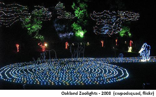 Oakland Zoolights - 2008