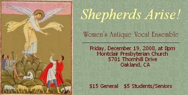 Shepherds Arise