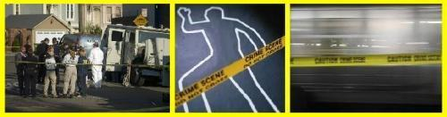 Crime Scene Triptych