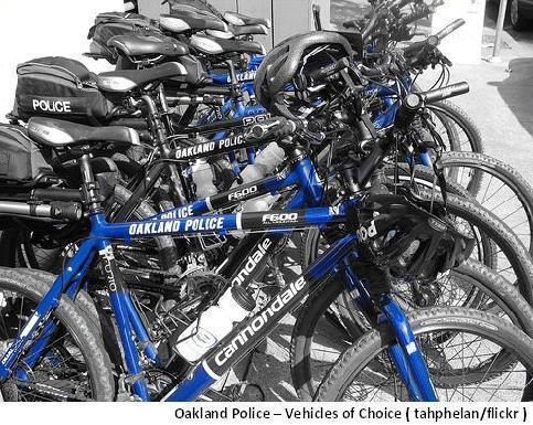 Oakland Police Bikes