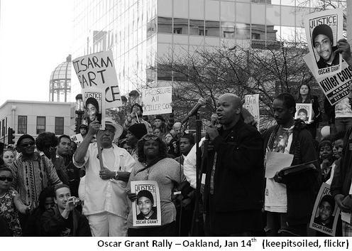 Oscar Grant Rally