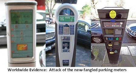 Parking Meter-Machines
