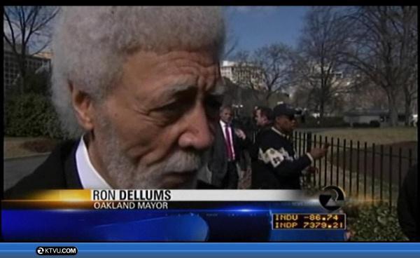 Mayor Visits DC