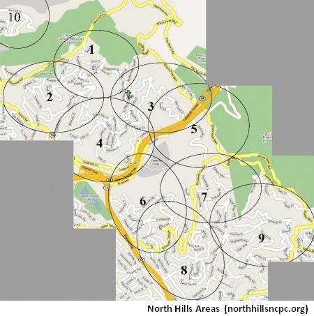 North Hills - Ten Areas