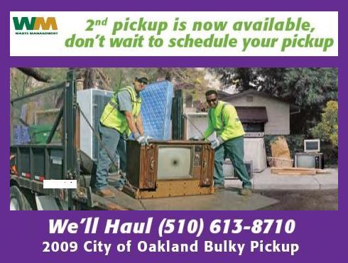 Oakland - Bulky Pickup
