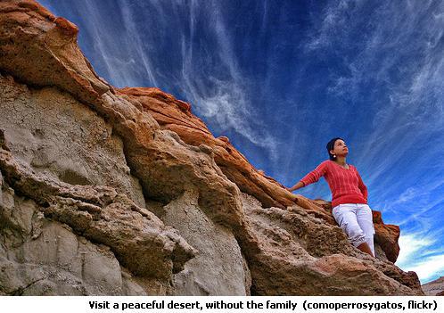 Peaceful Desert Rocks