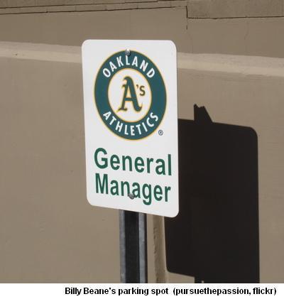 GM Beane's Parking Spot