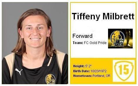 Tiffeny Milbrett - Soccer Star