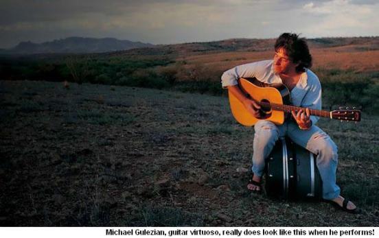 Guitarist Michael Gulezian