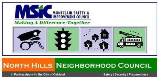 Montclair Safety Councils