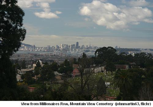 Mountain View Cemetery Millionaires