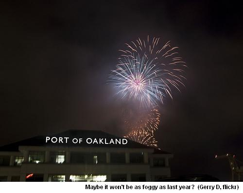 Port Of Oakland Fireworks