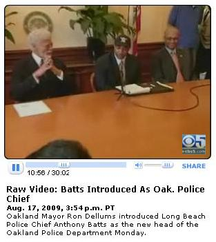 New Oakland Police Chief