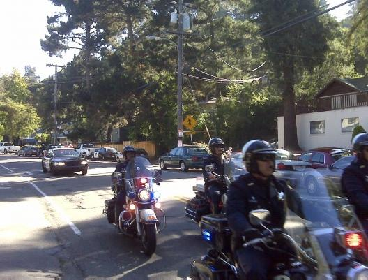Police Arriving