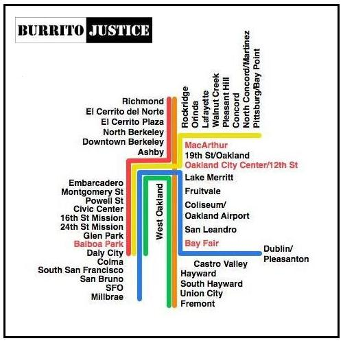 Burrito Justice - Hyperlinear BART