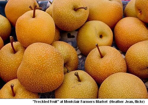 Farmers Market, Freckled Fruit
