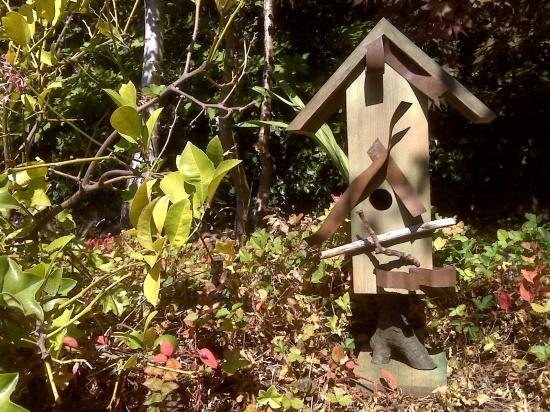 Birdhouse in Garden