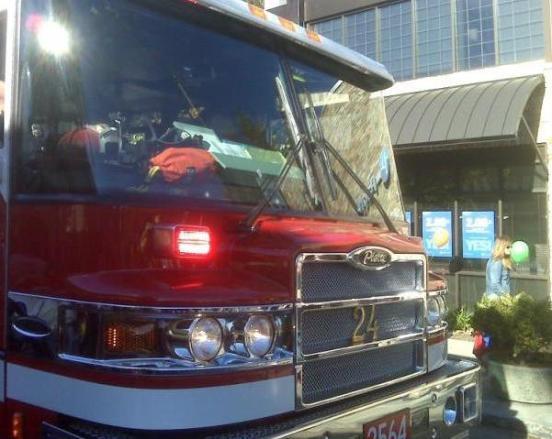 Halloween 2009 - Fire Truck