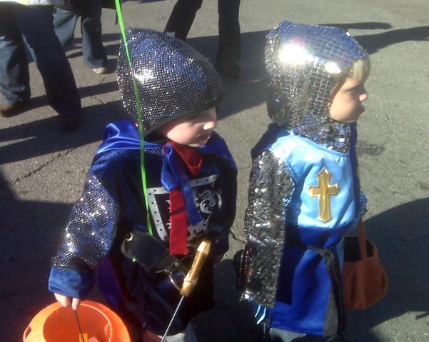 Halloween 2009 - Jouster Kids