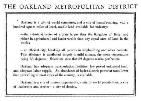 Oakland Metro - Intro