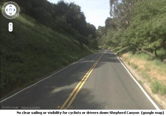 Shepherd Canyon Road, Oakland